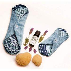 natural alternative to menstrual pads and tampons - menstrual kit